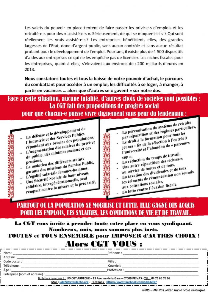 2018 07 09 ud cgt 07 tract gagnons une rentree sociale offensive page 002