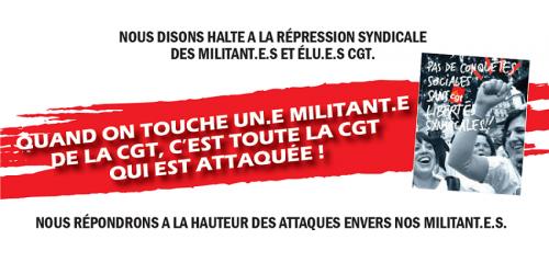 STOP A LA CRIMINALISATION SYNDICALE : Rassemblement Jeudi 2 mai à 14 h devant MP Hygiène Davezieux