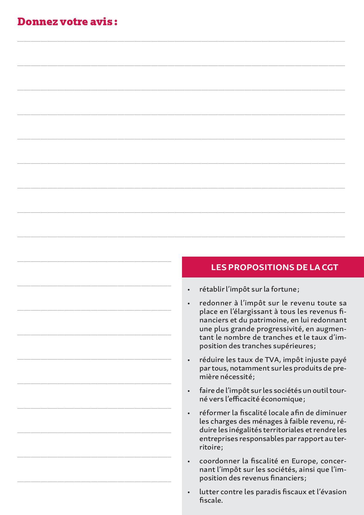 Cahier d expression revendicatif populaire page 009