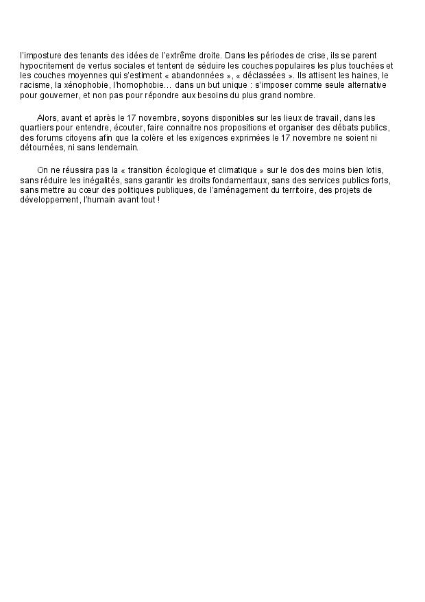 Declaration du comite regional page 3